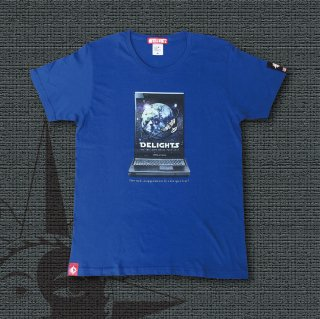 DELIGHTS SPACE TOUR 20XX T-Shirts (Royal Blue)