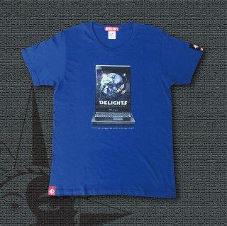 DELIGHTS SPACE TOUR 20XX T-Shirts (Royal Blue)