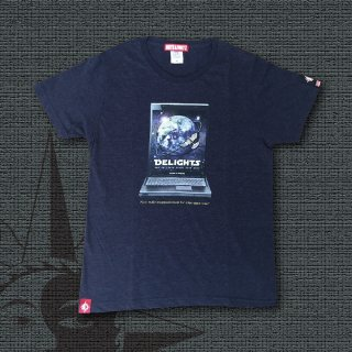 DELIGHTS SPACE TOUR 20XX T-Shirts (Heather Navy)