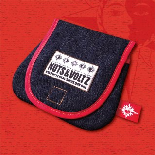 NUTS & VOLTZ REEL CASE (Denim Cloth Red Line )