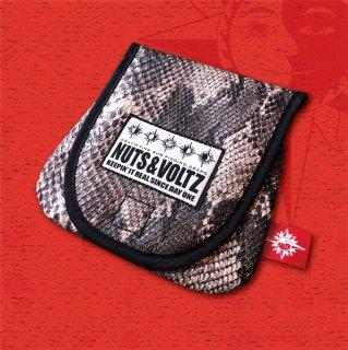 NUTS & VOLTZ REEL CASE (Python Leather )