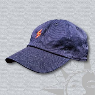 STOIST S-MARK 6PANEL CANVAS CAP (Navy)