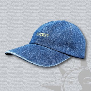 STOIST LOGO 6PANEL DENIM CAP (Dark Denim)