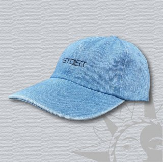 STOIST LOGO 6PANEL DENIM CAP (Light Denim)