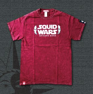 SQUID WARS T-Shirts (Red)
