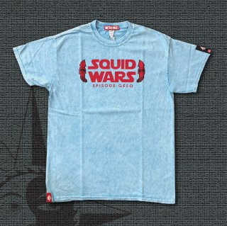 SQUID WARS T-Shirts (Pale Blue)