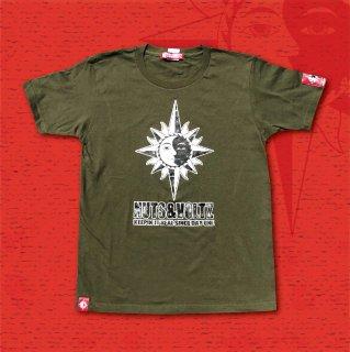 NUTS & VOLTZ STANDARD LOGO T-Shirts (Kahki)