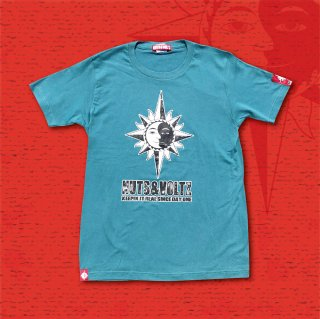 NUTS & VOLTZ STANDARD LOGO T-Shirts (Turquoise)