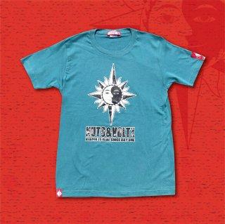 NUTS & VOLTZ STANDARD LOGO T-Shirts (Turquoise)