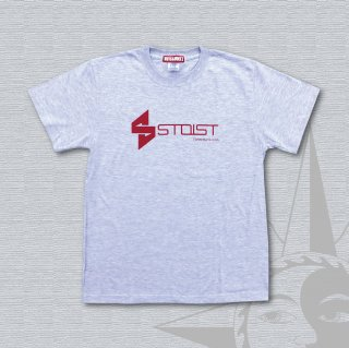 STOIST S-SHARP LOGO T-Shirts (AshGray)