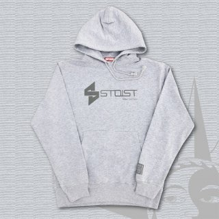 STOIST S-SHARP LOGO PARKA (Mix Gray×GrayPrint)