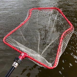IKAFRAME LANDING NET (Red Squid Frame Color)