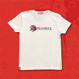 NUTS & VOLTZ FUJIYAMA WAVE T-Shirts (Off-White)