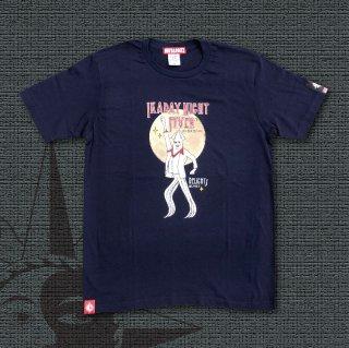 IKADAY NIGHT FIVER T-Shirts (Navy)