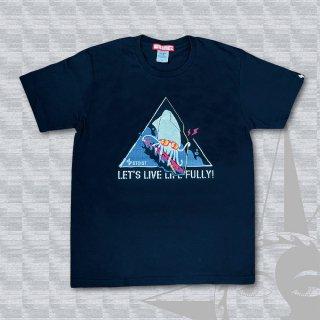 STOIST LIVE LIFE FULLY T-Shirts (Black)