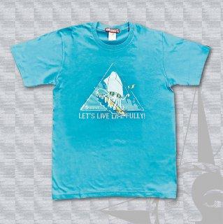 STOIST LIVE LIFE FULLY T-Shirts (Sky Blue)