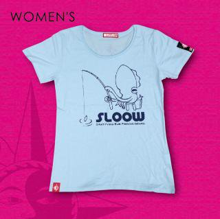GO SLOW-T for Women's (Aqua Blue)