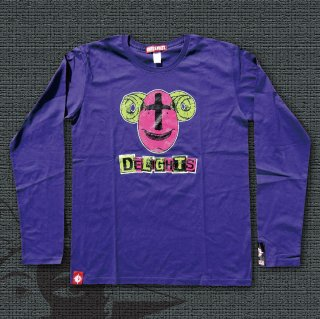 BIO FISH Long Sleeves T-Shirts (Purple)