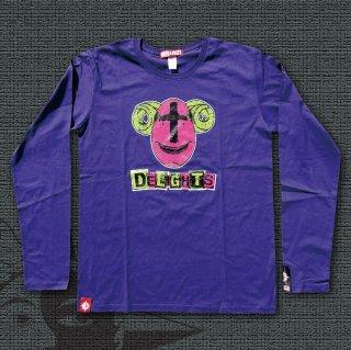 BIO FISH Long Sleeves T-Shirts (Purple)