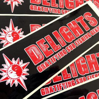 DELIGHTS LOGO STICKER