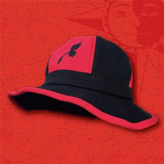 NUTS & VOLTZ METRO HAT (Black & Red / Combi)