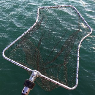 IKAFRAME LANDING NET (Silver Squid Frame Color)
