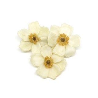 シュウメイギク ブローチ(花3)