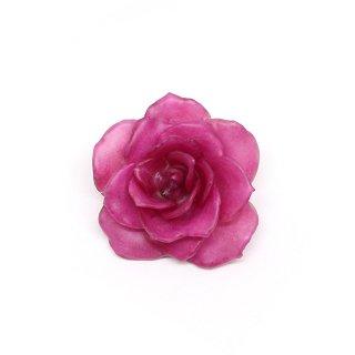 バラ ブローチ(ピンク)