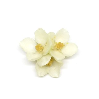 バイカウツギ ブローチ(花3)