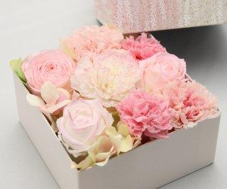 フラワーボックスギフト(友禅紙) 敬老の日・母の日・誕生日ギフト・結婚祝い・結婚記念日・新築お祝い・開店お祝い