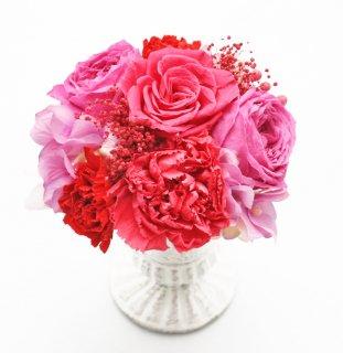プリザーブドフラワーアレンジメント 敬老の日・母の日・誕生日ギフト・結婚祝い・結婚記念日・新築お祝い・開店お祝い /【ビアンカ】