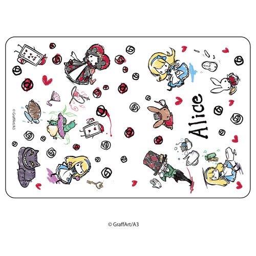 キャラケース「童話シリーズ」01/不思議の国のアリス(グラフアートデザイン)