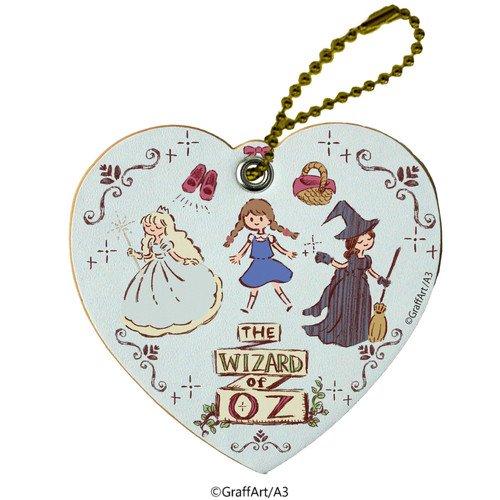 キャラレザーチャーム「童話シリーズ」02/オズのまほうつかい(グラフアートデザイン)