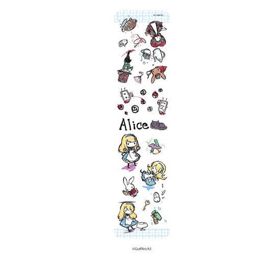 たて型iPhoneケース「童話シリーズ」01/不思議の国のアリス
