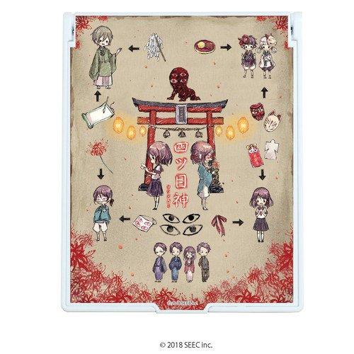 デカキャラミラー「四ツ目神」01/キャラ&モチーフデザイン(グラフアート)