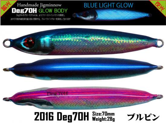 2016 Deg70H GLOWマイラー ブルピン