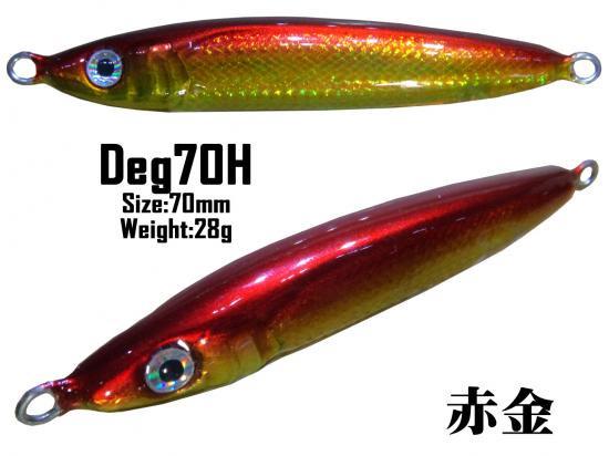 2016 Deg70H マイラーチューブ 赤金