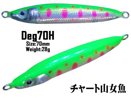 2016 Deg70H マイラーチューブ チャート山女魚