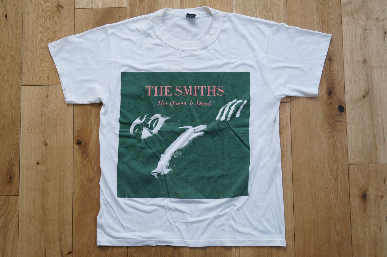 80年代 The Smiths Tee 「The Queen Is Dead」