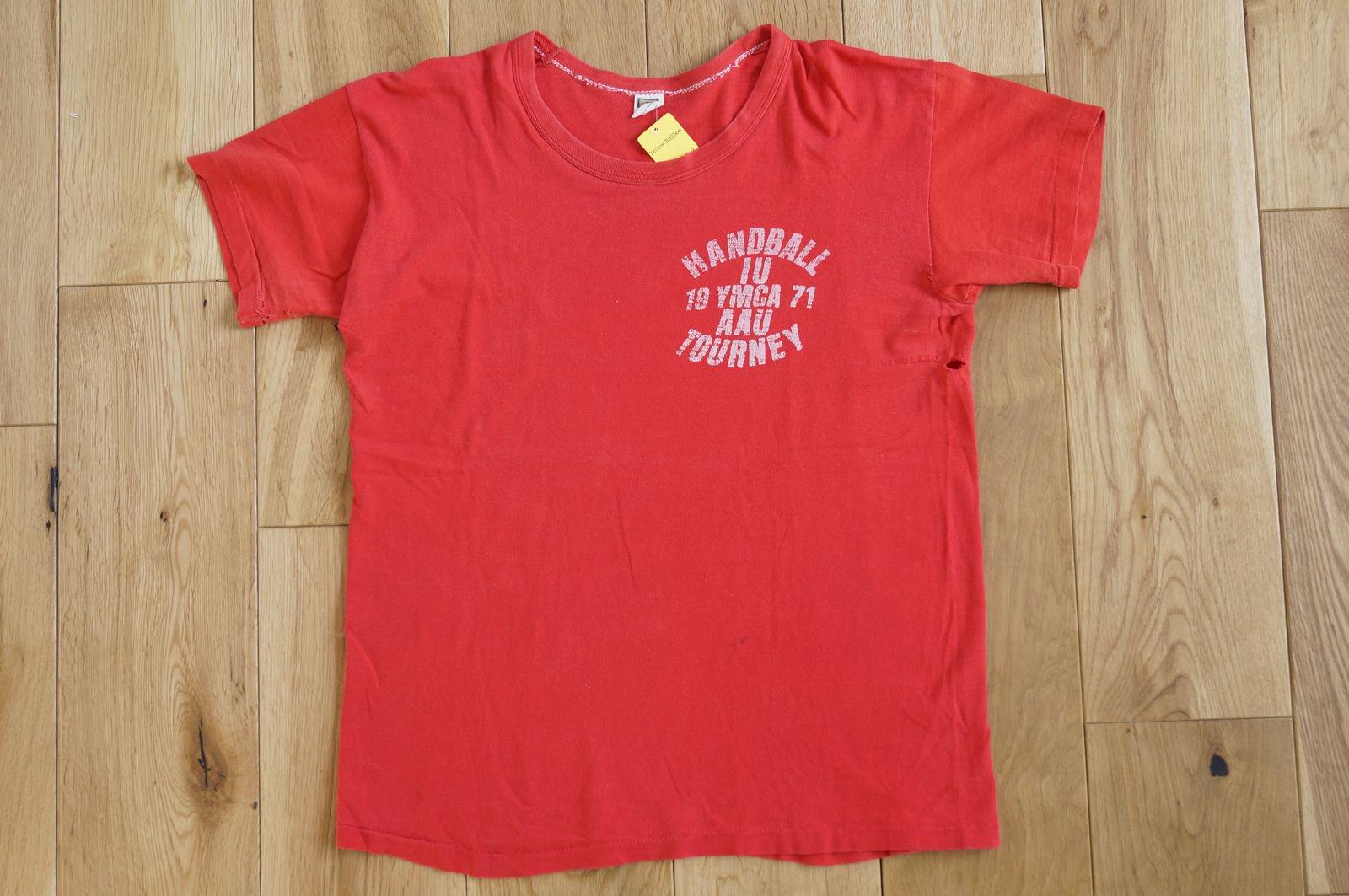 70年代 RUSSELL Tee YMCA