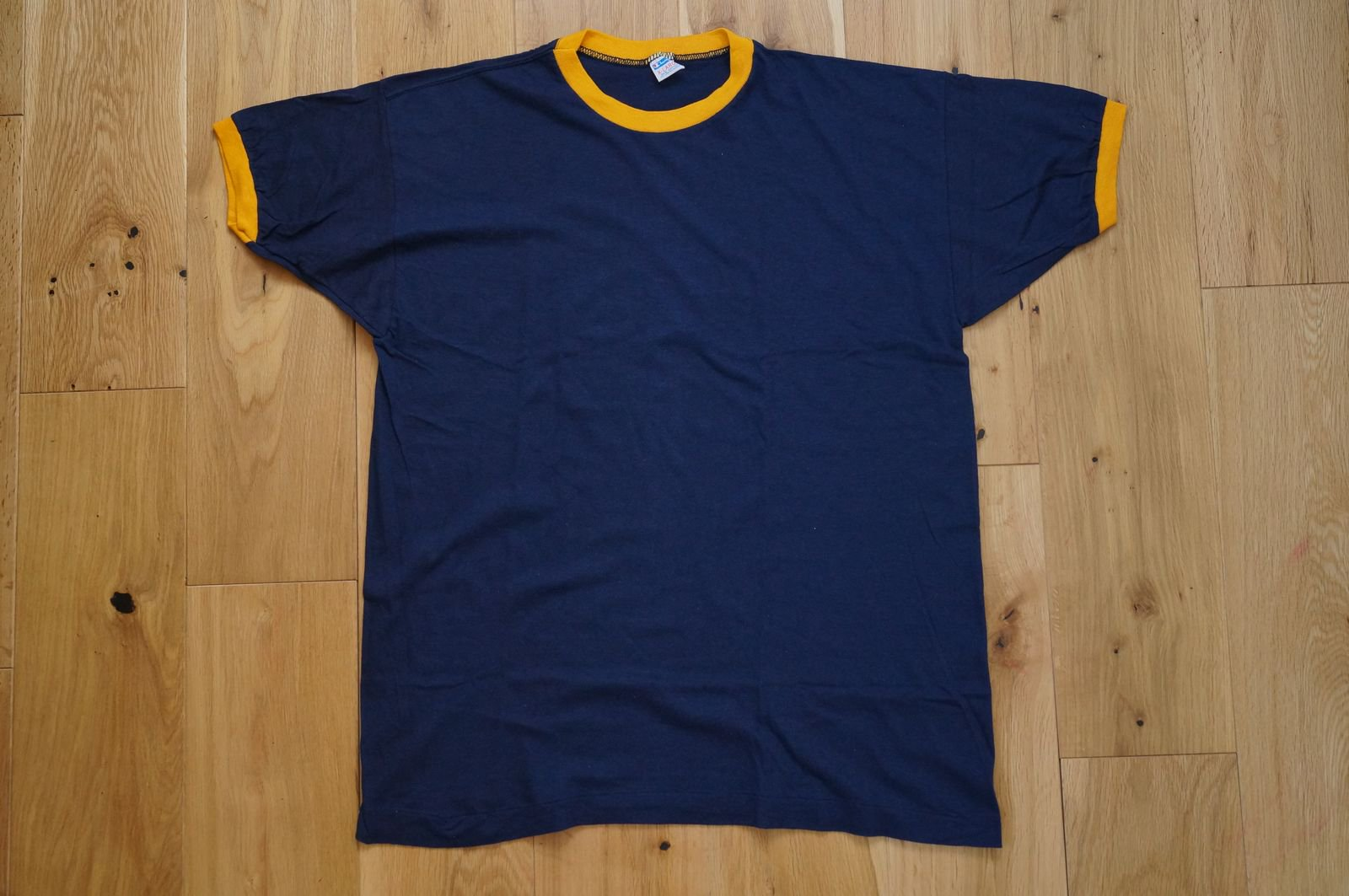 70年代 CHAMPION RINGER TEE SOLID