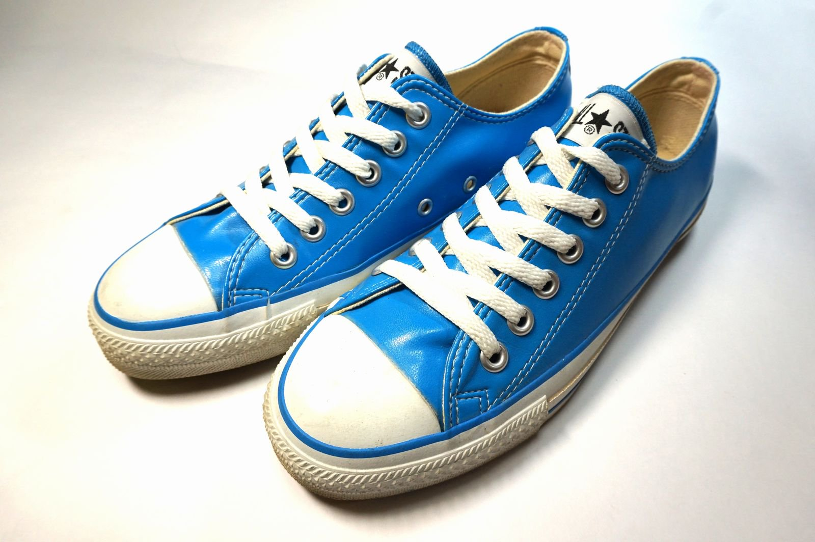 90年代 CONVERSE ALLSTAR Lo LT.BLUE LEATHER