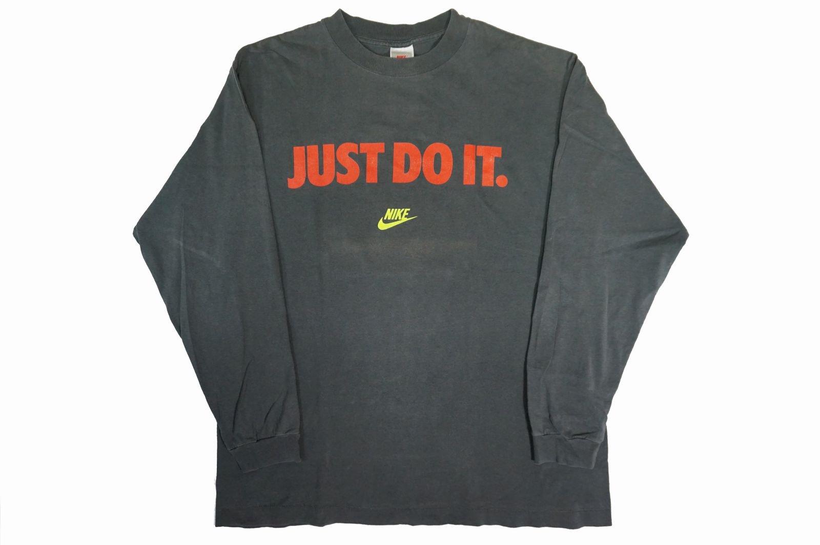 90年代 NIKE L/S TEE JUST DO IT