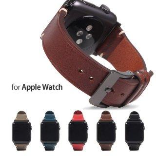 SLG Design Apple Watch バンド Italian Buttero Leather 44mm(Series 4/5/6/SE対応) 42mm(Series 1/2/3 対応)