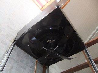 国内製造品 トーカイデザイン エコエコファン ロータリー式 4枚羽エアコン風よけ&省エネ対策 天井埋込型エアコン用 アネモ用
