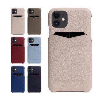 国内正規品 SLG Design iPhone12/12Pro(6.1インチ)Full Grain Leather Back Case 牛革にキメ細かいシボ加工 高級感のある背面カバー