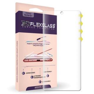 国内正規品 BIOSHIELD Galaxy Note20 Ultra SCG06 3D FLEX GLASS フルカバー 液晶保護フィルム(フィルム貼りサポーター付き)