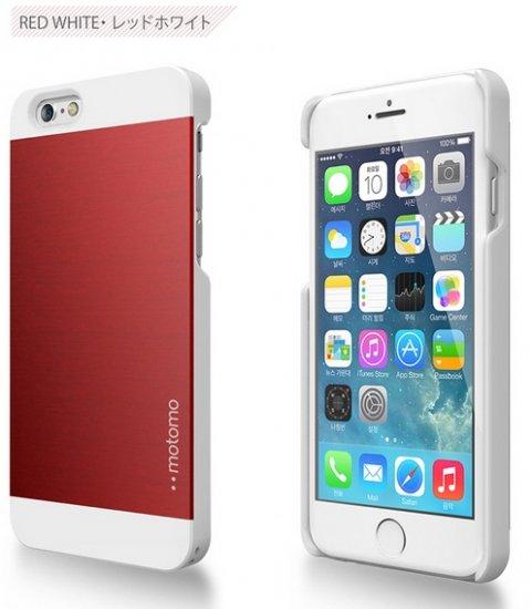 61fea268c3 iPhone 6 Plus デザインとの調和 iPhoneのデザインと調和したmotomoのプレミアムケースです。 INO METAL ...