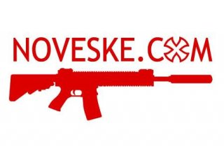 Noveske.com Rifle Sticker  ノベスケ 赤