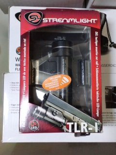 Streamlight TLR-1s Tactical Light with Weapons Mount